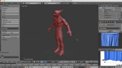 Blender 101 - Blender305: Character Sculpting