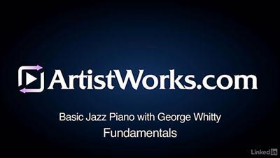 Lynda - Jazz Piano Lessons: 1 Fundamentals