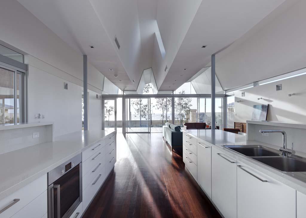 Войти в резонанс с океаном или удивительный волнистый дом на западном побережье австралии