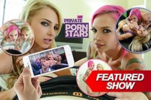 My Private Pornstar (lifeselector.com/SuslikX) [uncen] [2016, ADV, Animation, Flash, POV, lesbian, hardcore, fingering, big tits, titfuck, cum on tits, stripper, threesome] [eng]