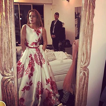 Линдси Лохан, фото из Instagram