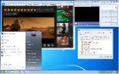 Windows 7 Professional COEM SP1 7601.23798 LIM by Lopatkin (x86-x64) (2017) [Rus]