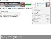 Ultra Adware Killer 5.9.3.0 - уничтожит лишние панели инструментов