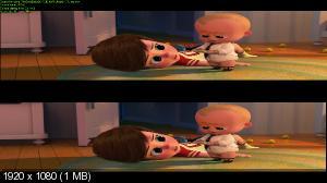 Босс-молокосос 3D / The Boss Baby 3D  (Лицензия by Ash61) Вертикальная анаморфная