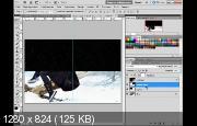 Реалистичный снег в фотошоп (2017) HDRip