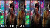 Призрак в доспехах 3D / Ghost in the Shell 3D Горизонтальная анаморфная стереопара.