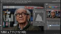 Обработка уличного портрета в фотошоп (2017)