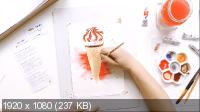 50+ видеоуроков рисования (2017) HD