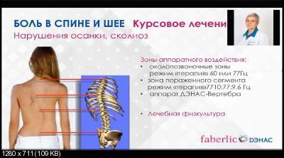 Боль в спине и шее. Профилактика и лечение при помощи аппаратов ДЭНАС (2017)