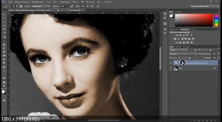 Как раскрасить чёрно-белую фотографию (2017) HDRip