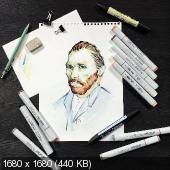 Потрясающе творческий Абсент - Среднее учебное заведение Sketch park (2017)