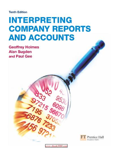 Interpreting Company Reports 10th Edition